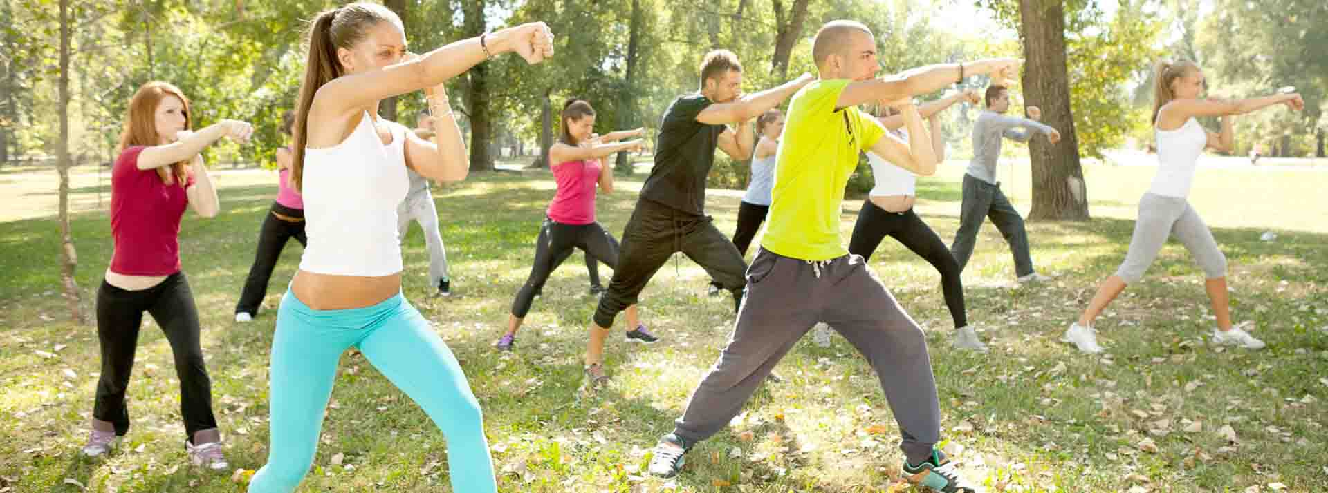 Fighting Fit - Aerobic mit Kampfsport
